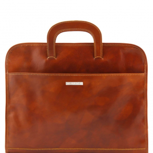 Tuscany Leather TL141022 Sorrento - Document Leather briefcase Honey