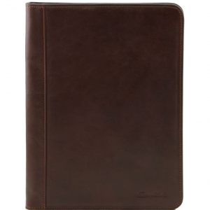 Tuscany Leather TL141294 Ottavio - Leather document case Dark Brown