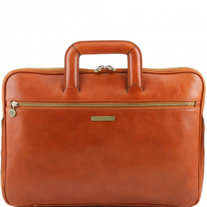 Tuscany Leather TL141324 Caserta - Document Leather briefcase Honey