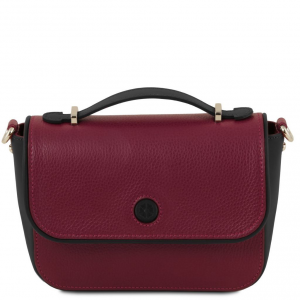 Tuscany Leather TL141725 Primula - Pochette in pelle Bordeaux