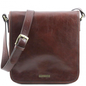 Tuscany Leather TL141260 TL Messenger - Borsa a tracolla 1 scomparto Marrone