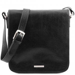 Tuscany Leather TL141260 TL Messenger - Borsa a tracolla 1 scomparto Nero
