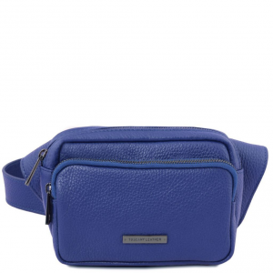 Tuscany Leather TL141700 TL Bag - Sac banane en cuir Bleu