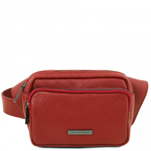 Tuscany Leather TL141700 TL Bag - Leather fanny pack Red