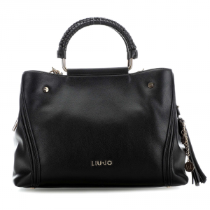 Hand and shoulder bag Liu Jo COLLATINA A19138 E0064 NERO