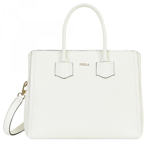 Hand and shoulder bag Furla FURLA ALBA 1008054 CHALK
