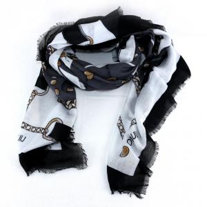 Headscarf Liu Jo ROMANTICA N19337 T0300 NERO