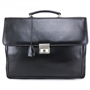 Briefcase  The Bridge  06431501 20 Nero
