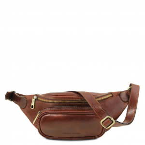 Tuscany Leather TL141797 Leather fanny pack Brown