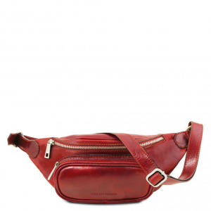 Tuscany Leather TL141797 Marsupio in pelle Rosso