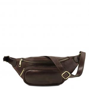 Tuscany Leather TL141797 Marsupio in pelle Testa di Moro