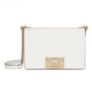 Shoulder bag Furla MIMI 1008509 Chalk