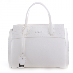 Hand and shoulder bag Liu Jo FRIVOLA N19042 E0027 OFF WHITE