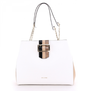 Shouder bag Cromia RASHIDA 1404186 BIANCO+CREMA
