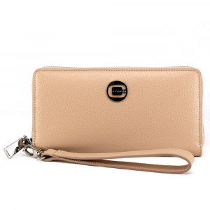 Woman wallet Cromia KISSA 2640820 CHAMPAGNE