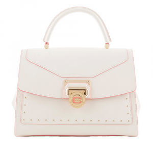 Hand and shoulder bag Cromia NUBIA 1404182 BIANCO
