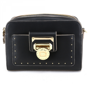 Shoulder bag Cromia NUBIA 1404185 NERO+BEIGE