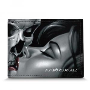 Portefeuilles pour homme Alviero Rodriguez SKULL LOVE PORTAFOGLI SL Unico