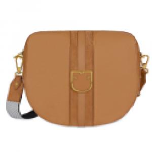Shoulder bag Furla GIOIA 1007607 CARAMELLO f+NOCCIOLA b