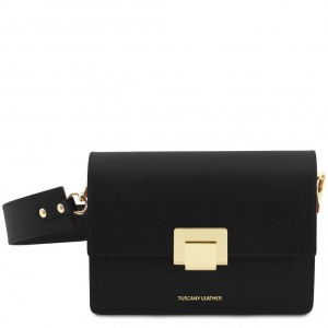 Tuscany Leather TL141742 Adele - Pochette in pelle Nero
