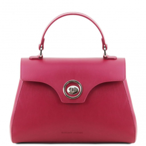 Tuscany Leather TL141824 TL Bag - Bauletto in pelle Magenta